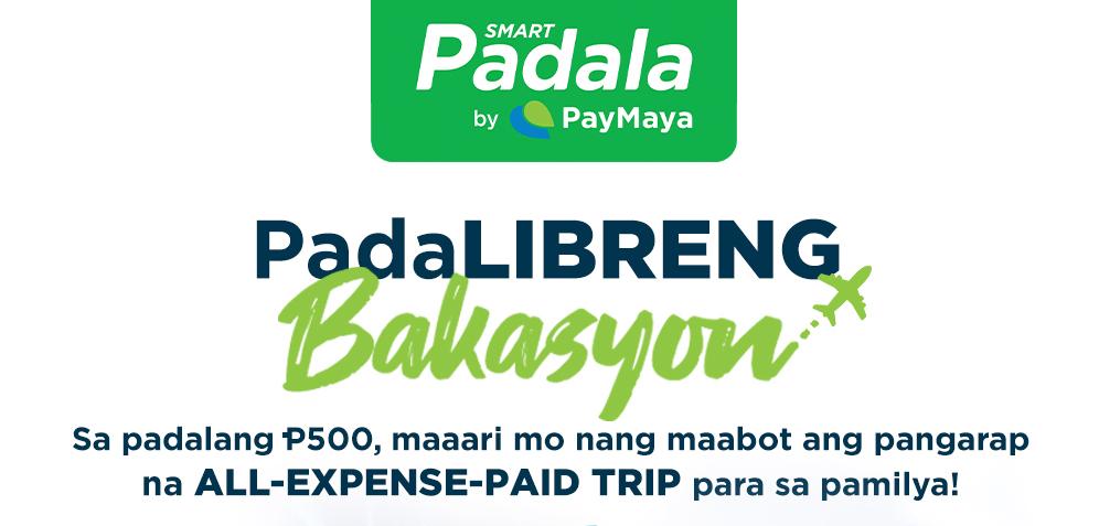 PadaLibreng Bakayson with Smart Padala and PayMaya