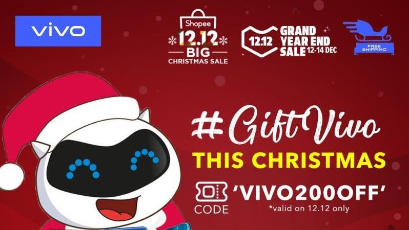 Vivo PH with Up to 56% Discounts at Lazada, Shopee 12.12 Sale