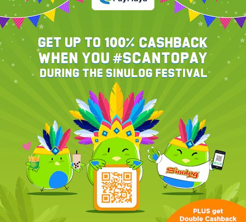 Coming Down for Sinulog this Weekend? Remember, don't pay cash, PayMaya!