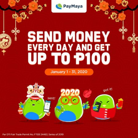 Amazing Cashback Deals Chinese New Year with PayMaya!