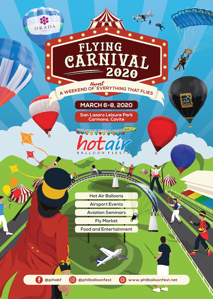 See The Flying Carnival 2020 in Carmona Cavite