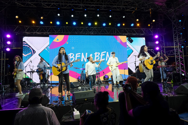 An AWESOME Concert Launch of the SAMSUNG Galaxy A71