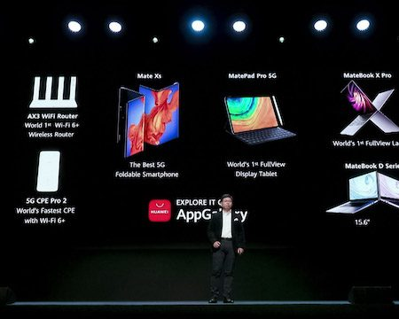 Huawei Launched the Mate Xs, MatePad Pro 5G, and new Matebooks