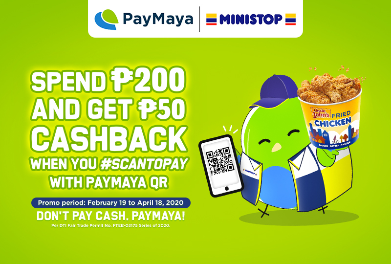 Quick Treats and Sweet Deals When You use PayMaya QR at Ministop