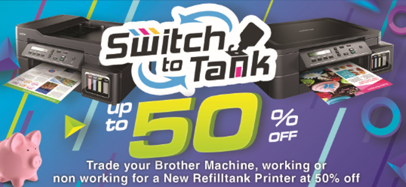 Brother Philippines extends popular Switch to Tank promo until March