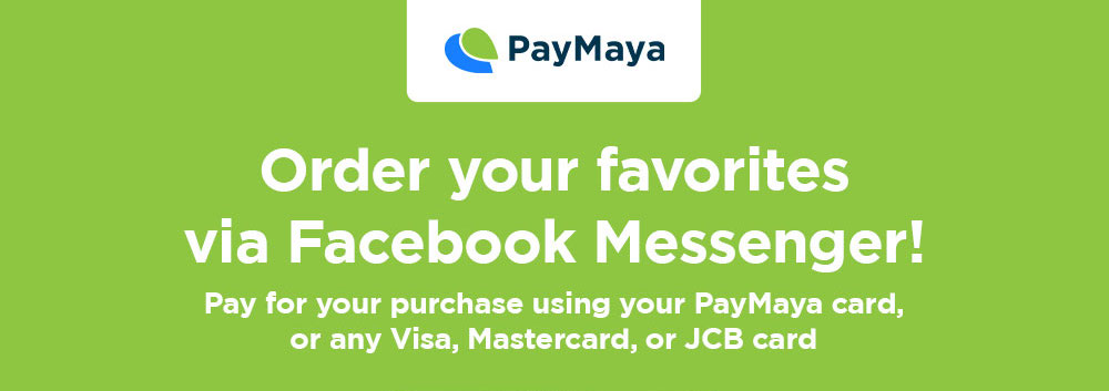 JFC and PayMaya Partners with Cashless Orders via Chatbot