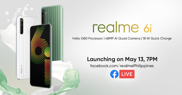 realme Philippines to Launch Sub-10k powerhouse realme 6i on May 13