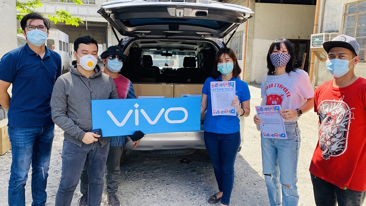 vivo Donates Surgical Masks, Letters to Hospitals, Front Liners