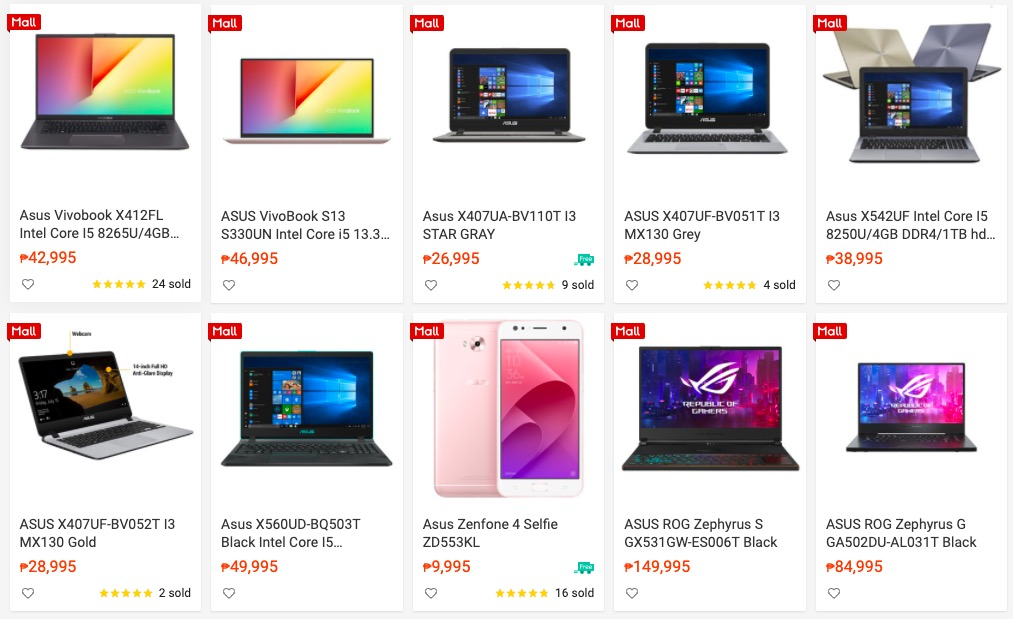 ASUS Laptops You Can Invest on for Online Classes Available at Shopee!