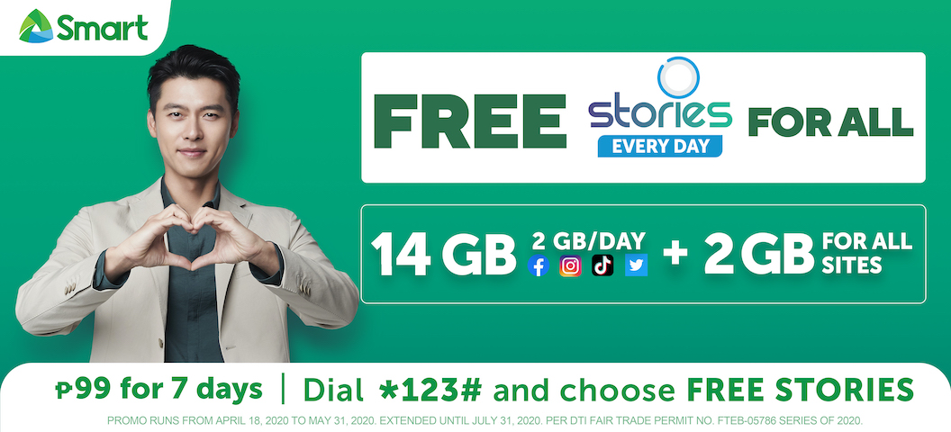 Keep your stories going with 16 GB from Smart Giga Stories 99