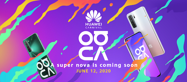 HUAWEI nova 7SE 5G – To Be Launched on June 12, 2020!