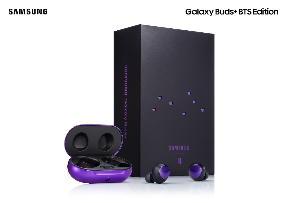 SAMSUNG Galaxy Buds+ BTS Edition has finally arrived in the Philippines!