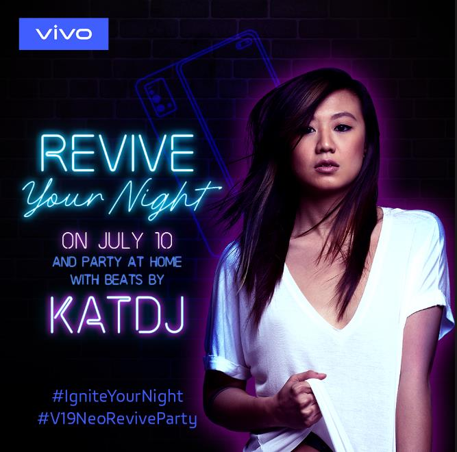 vivo Revives Friday Night, Party Night with Kat DJ on July 10