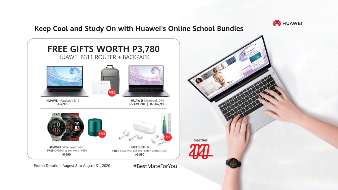 Keep Cool and Study On, with Huawei's Online School Promo Bundles