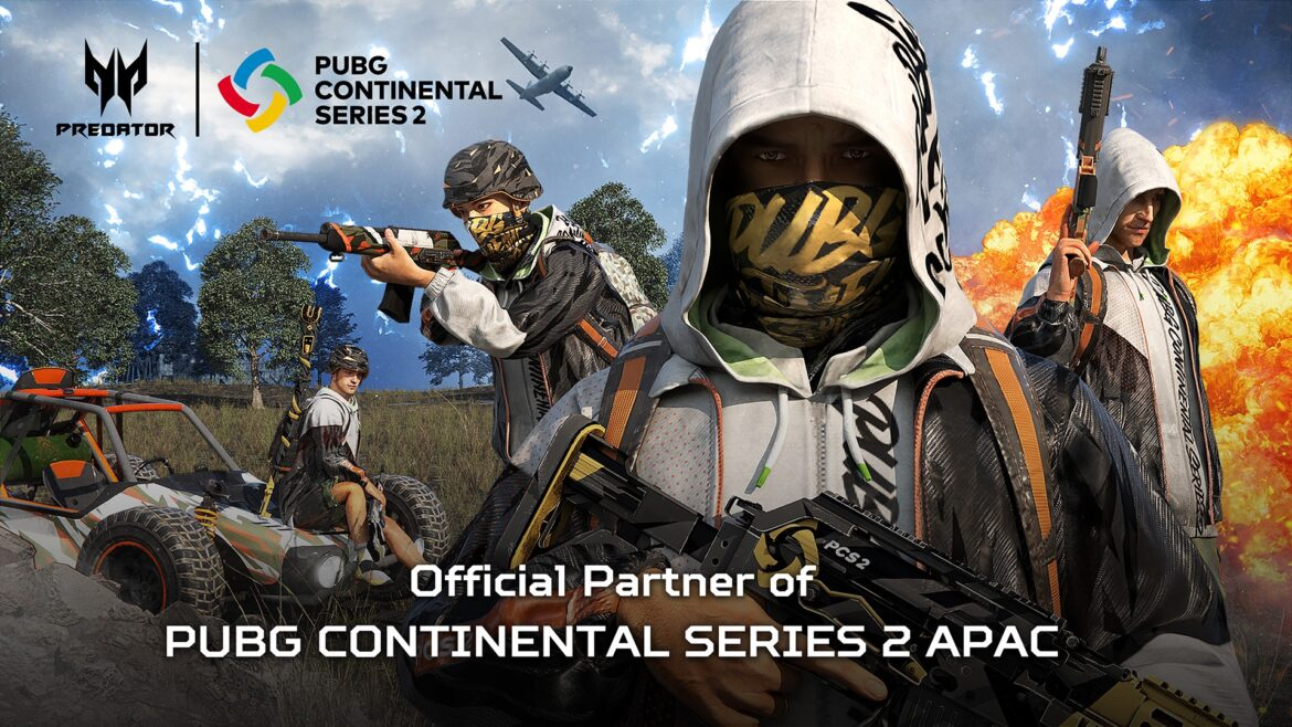 Acer Partners with PUBG for Continental Series 2 APAC