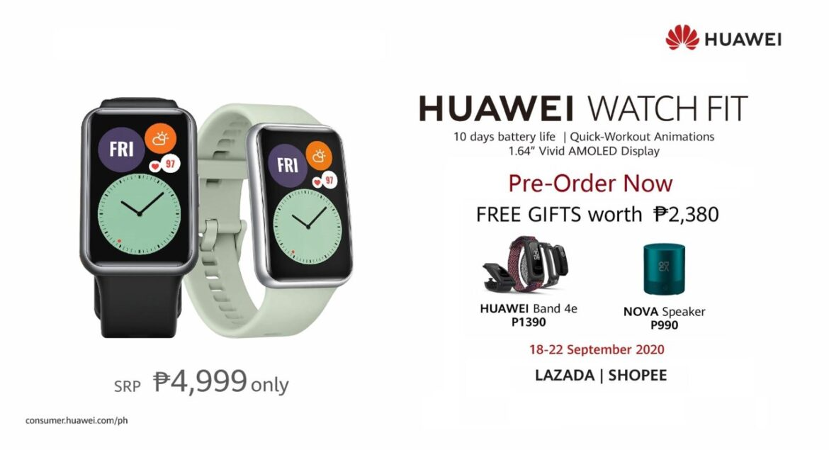 The New Huawei Watch Fit Puts Excitement Back in Exercise