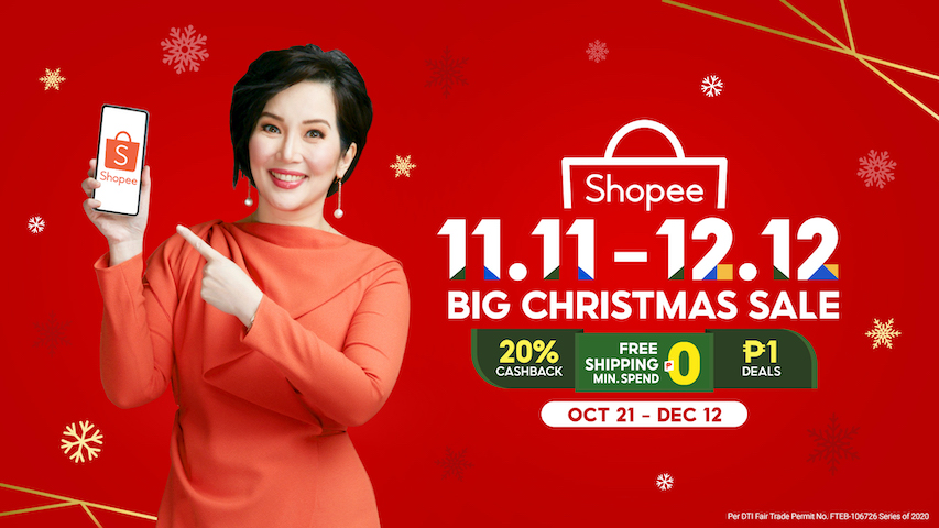 Shopee Welcomes Kris Aquino as its New Brand Ambassador for the 11.11 – 12.12 Big Christmas Sale