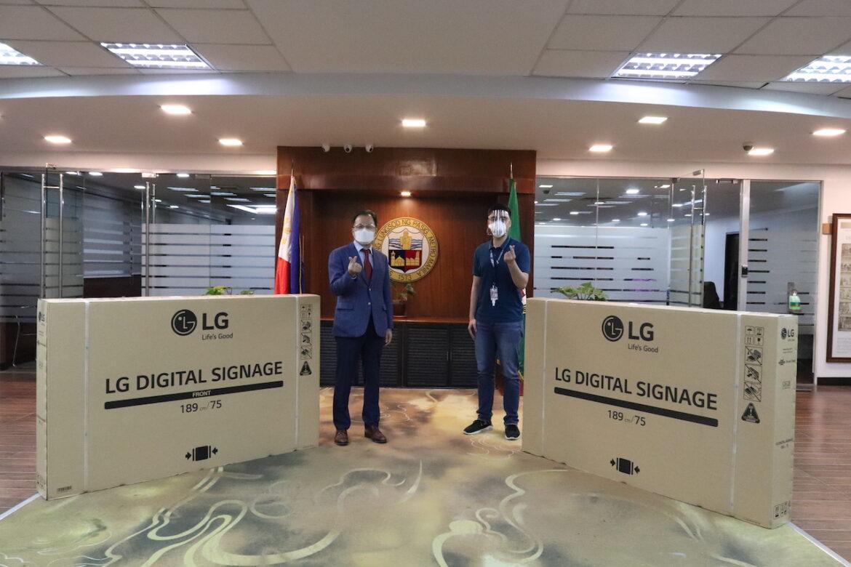 LG Donates Digital Displays to the City of Pasig