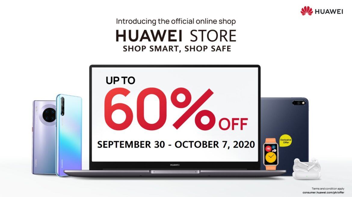 Huawei Store's Hot Sale Gadget Deals from September 30 to October 7!