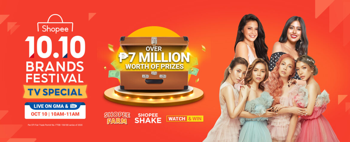 Shopee Strengthens Supports for Brands with 10.10 Brands Festival