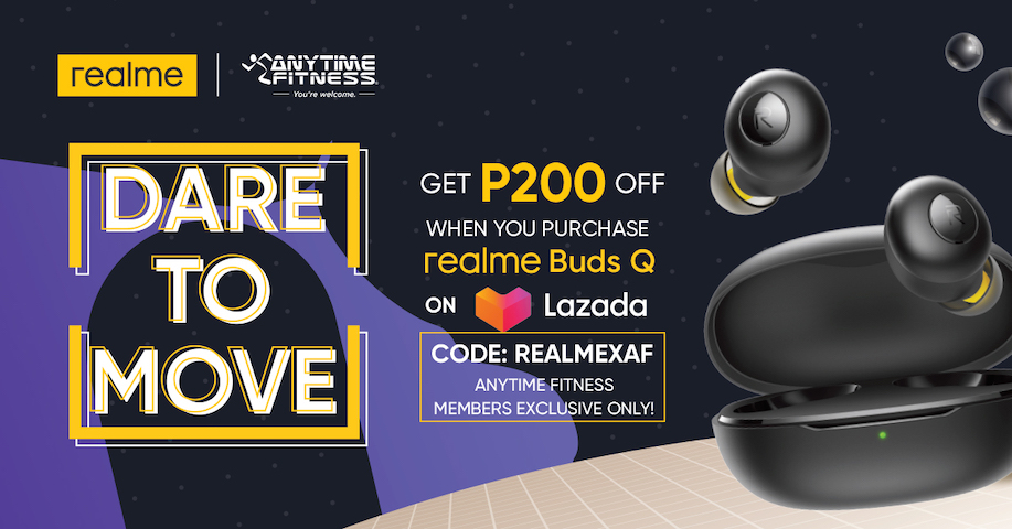 Stay Fit with realme Philippines and Anytime Fitness