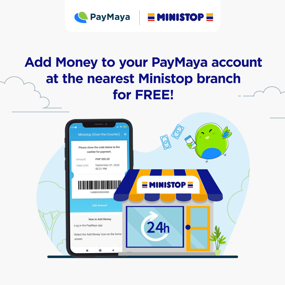 You Can Now Add Money To Your PayMaya Account for FREE at Ministop
