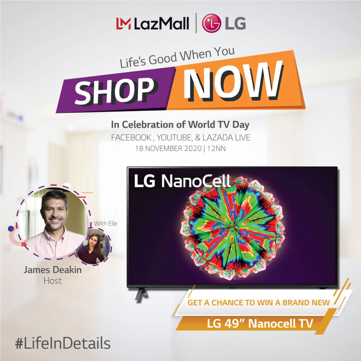LG Celebrates World TV Day