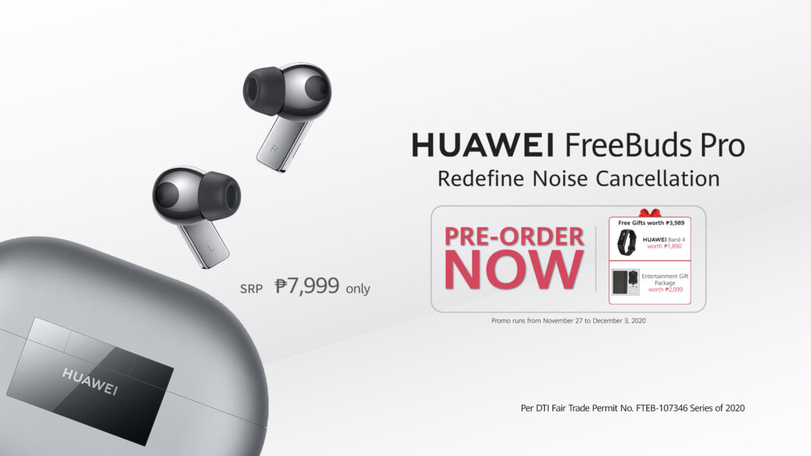 HUAWEI FreeBuds Pro Offers a Liberating Audio Experience