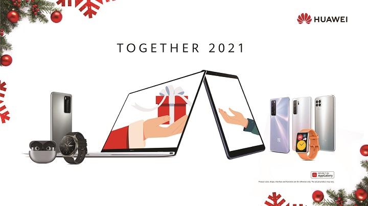 HUAWEI's Together 2021 Christmas Promo