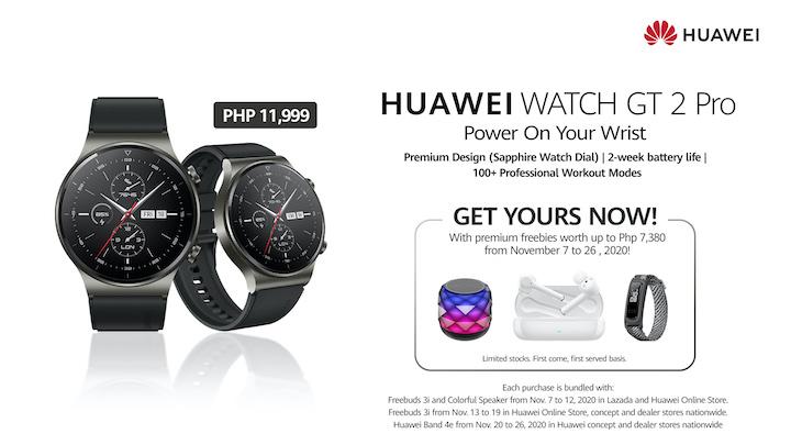 Huawei Launches New Flagship, the HUAWEI WATCH GT 2 Pro