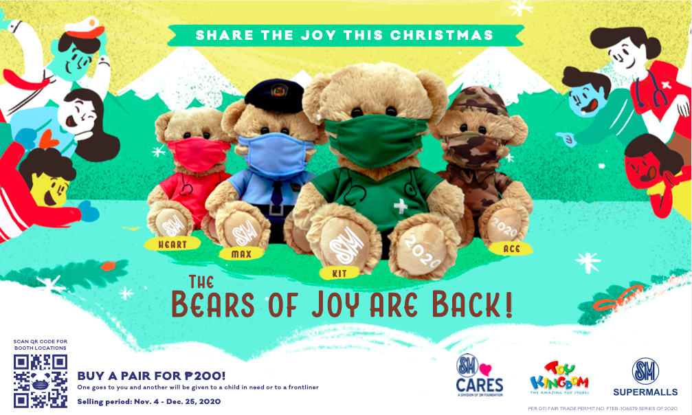 SM Cares rolls out special 'Bears of Joy' plushies in honor of frontliners
