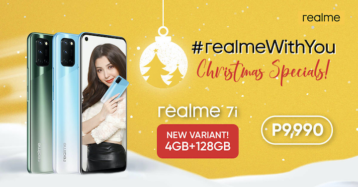 realme Launches New realme 7i Variant for Christmas