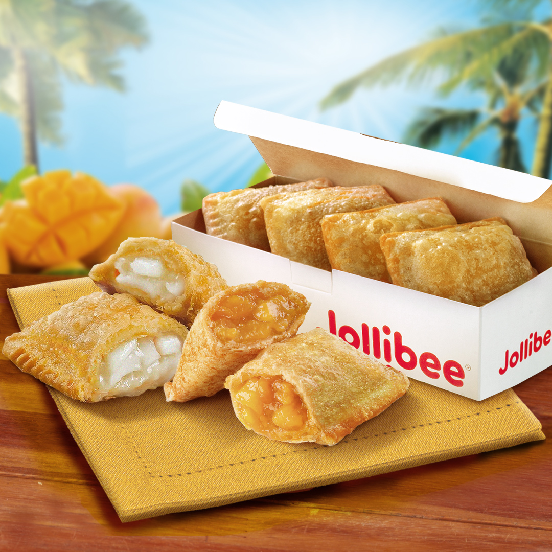 Your Favorite Jollibee Sweet Pies Now with the new 6 pc. To-Go Box!