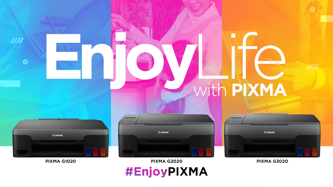 Canon Philippines Unveils new PIXMA G Series Printer
