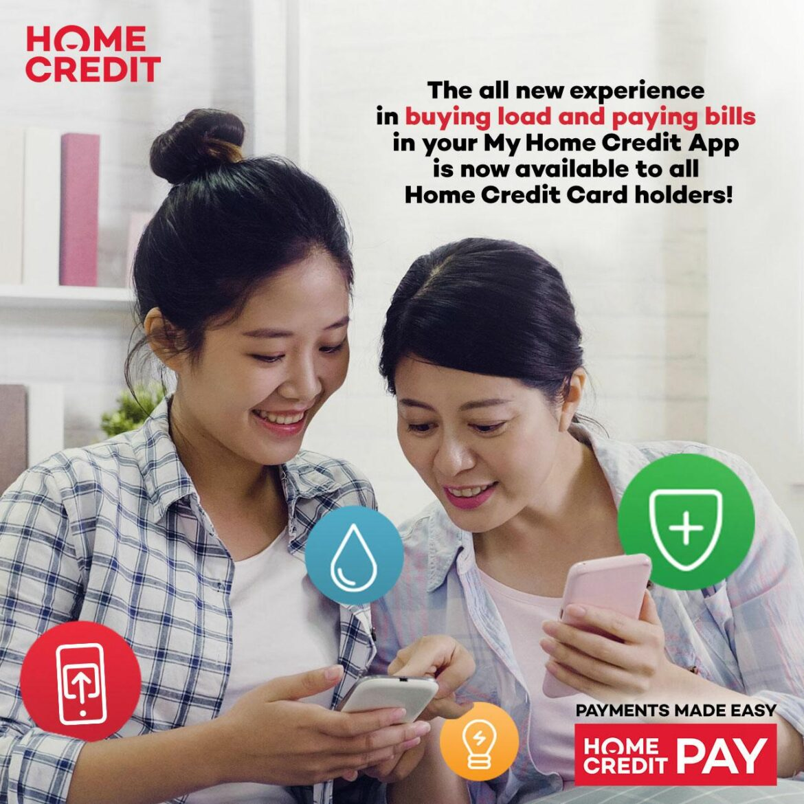 Pay Bills, Buy Load, and More with My Home Credit App