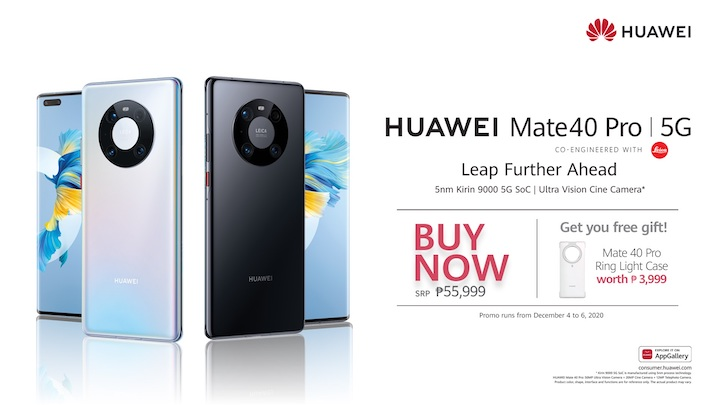 HUAWEI to Official Launch Mate 40 Pro on December 4!