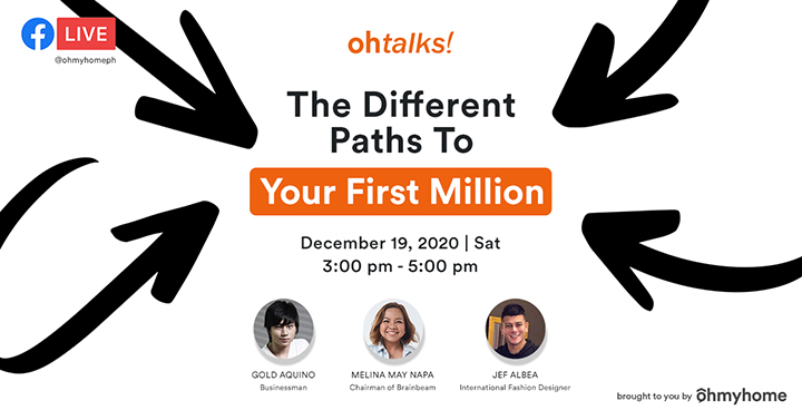 Ohmyhome Sets Premiere of 'OhTalks' with First Webinar:  'The Different Paths to Your First Million'