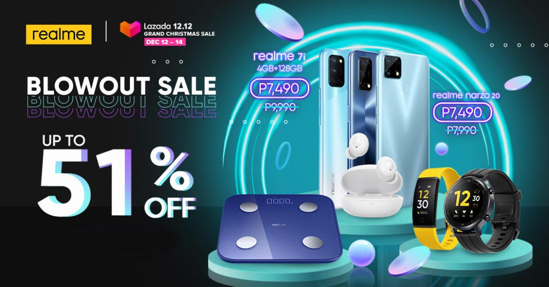 realme joins Lazada 12.12 Grand Christmas Sale