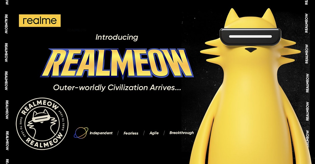 realme Introduces Official Brand Character REALMEOW