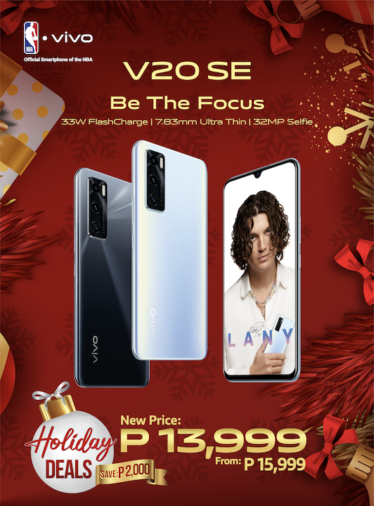 vivo V20 SE gets P2000 Discount with vivo Holiday Deals