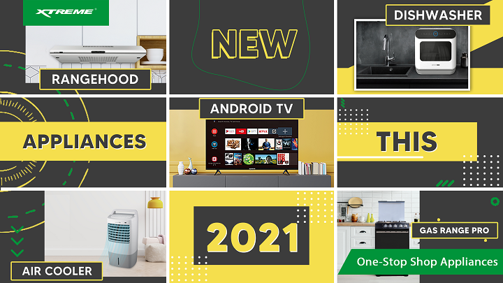 Fresh Start with New Appliances from XTREME this 2021