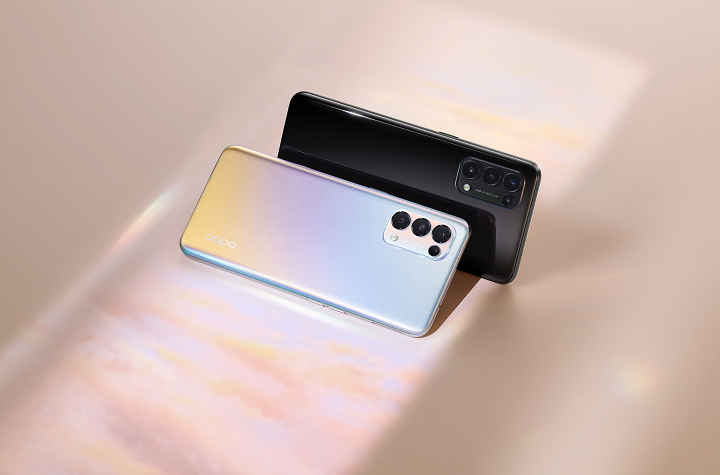 Picture Life Together with the new OPPO Reno5 4G/5G