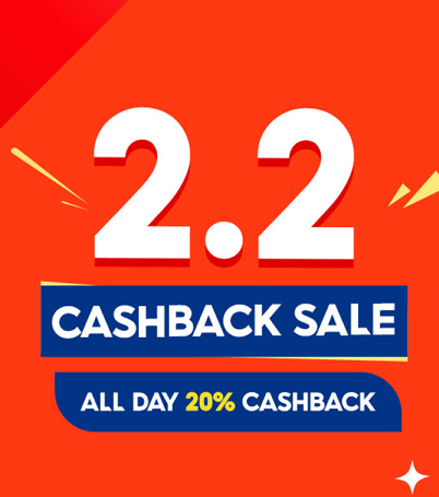 Shopee and INSPI Philippines 2.2 Cashback Sale!