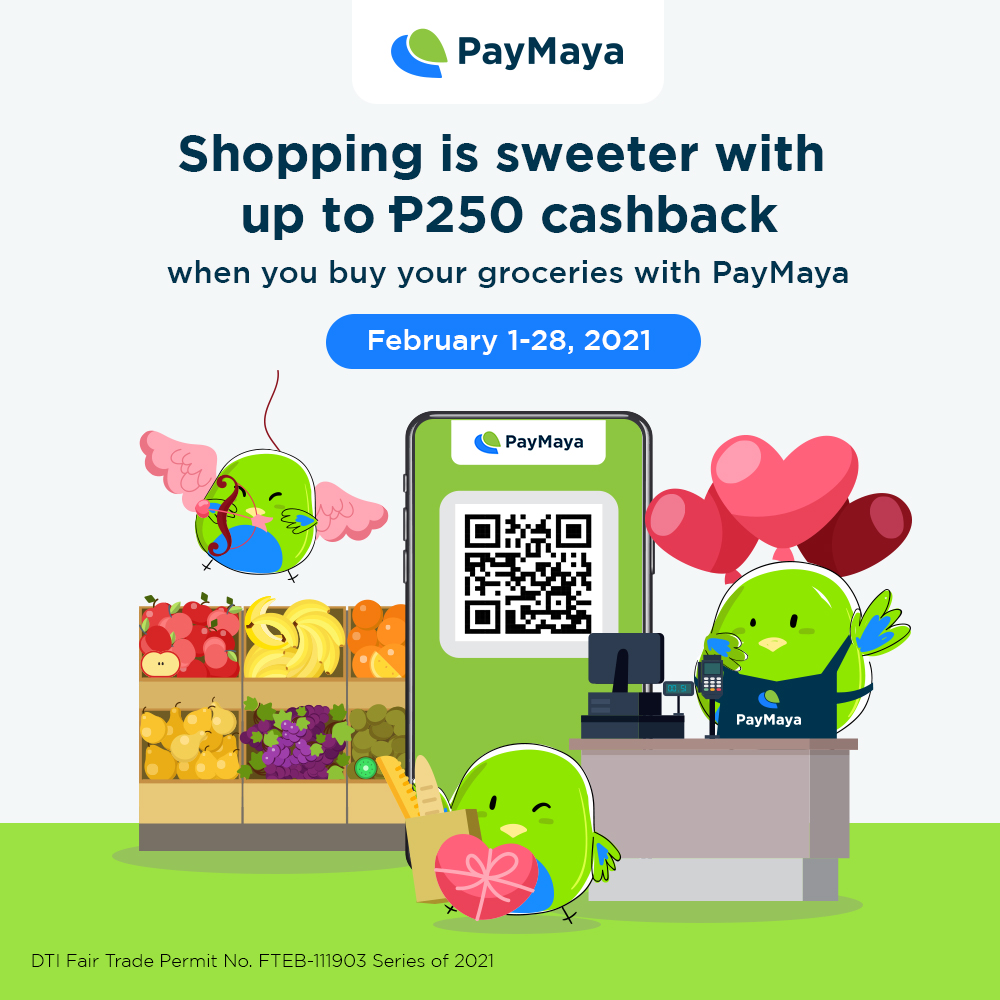 Top Supermarkets Offer Big Rewards When You Pay with PayMaya QR