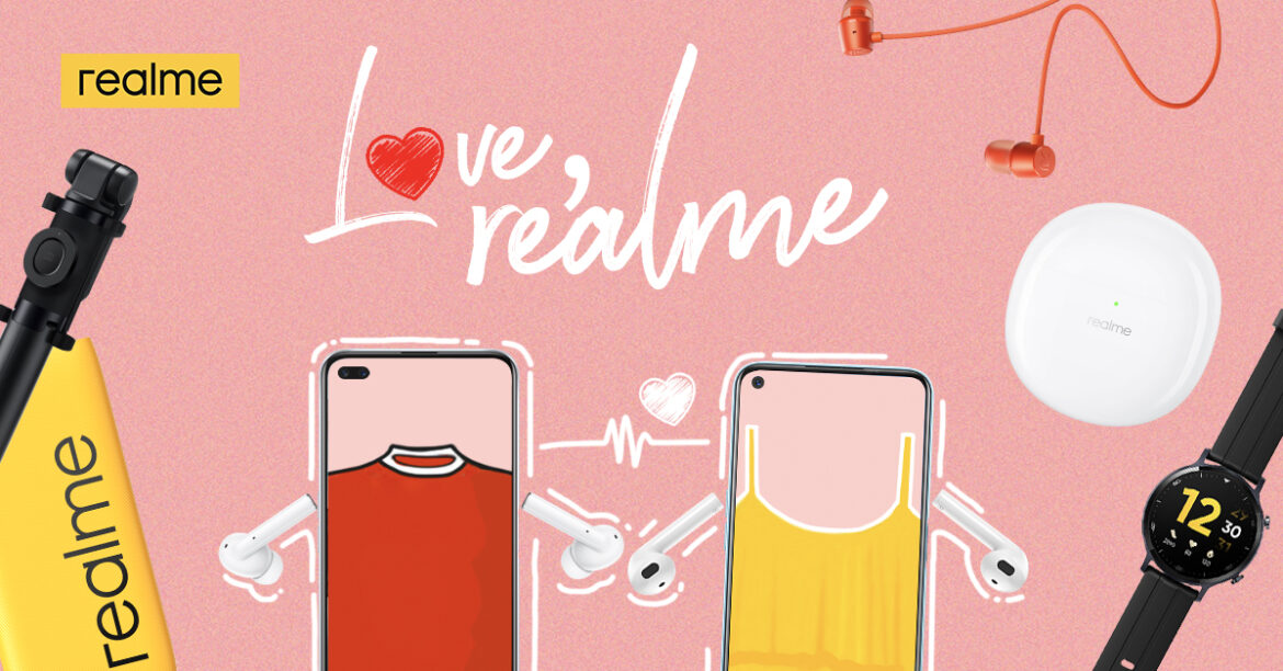 """""""Love, realme"""" Valentine's Day Special Offers Awesome Couple Deals, Dinner Date"""