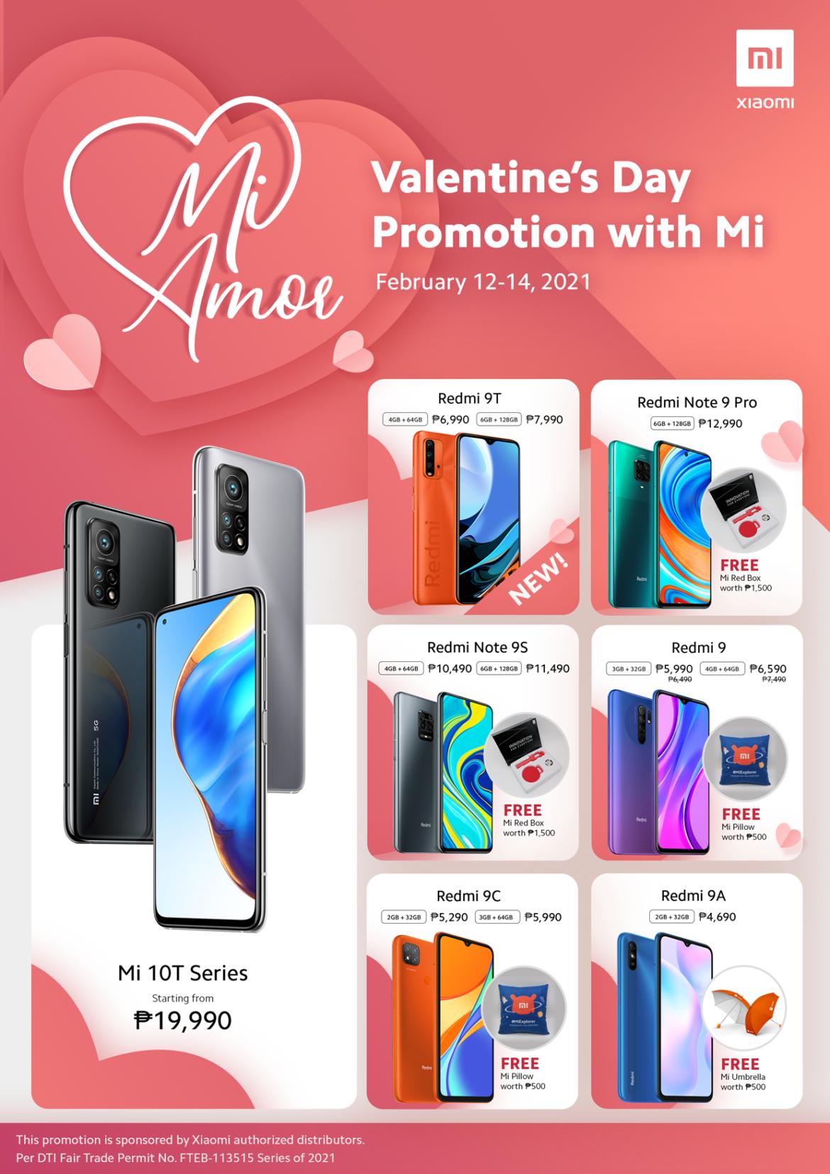 Mi Amore – Xiaomi Valentine's Day Promo