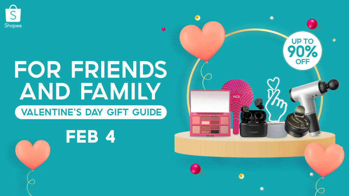 Make Valentine's Day More Meaningful with Shopee