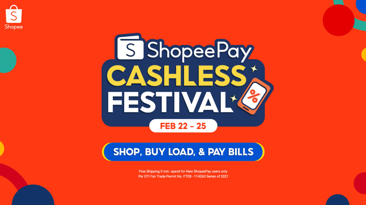 Enjoy Free Shipping and More at the 3.3 ShopeePay Cashless Festival