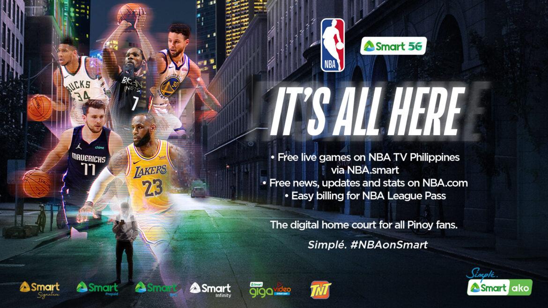 NBA and SMART Launch NBA's Official Digital PH Destination