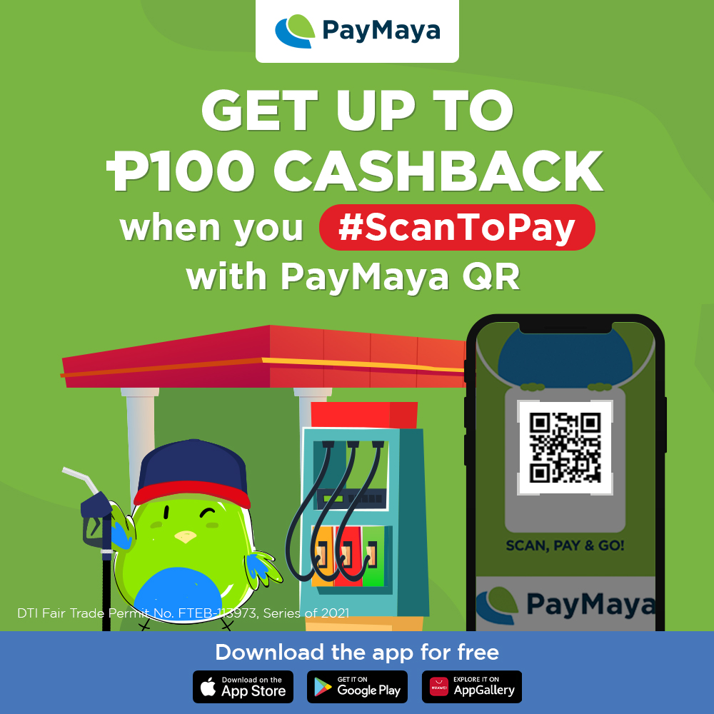 PH's Biggest Gas Stations Drive-Up Exciting Rewards When You Pay with PayMaya